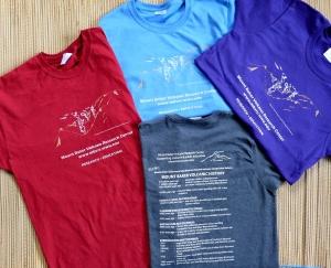 2012 Mount Baker volcano shirt