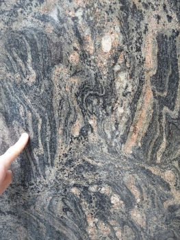 The Morton gneiss is used in Seattle buildings. At 3.2 billion years old it is probably the oldest building stone in the world.