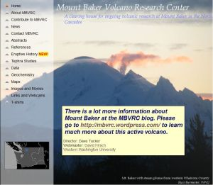 The home page for mbvrc.wwu.edu