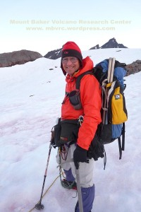 Doug McKeever on Mount Baker, 2013.