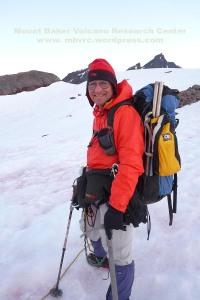 Doug McKeever on Mount Baker, 2013.