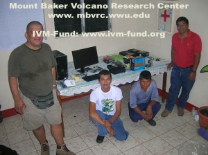 OVSAN team and donated equipment rsz