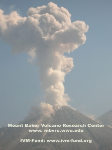 May 2011 eruption of the Santiaguito vent at Fuego Volcano.