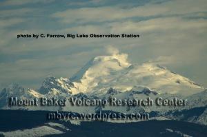 Feb. 27, 2014 gas plumes. Photo by Chris Farrow, Big Lake, Washington